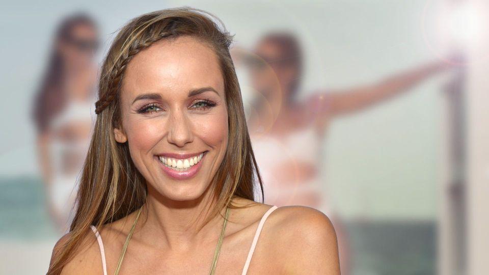 Moderatorin Annemarie Carpendale - Sexy unter der Sonne Mallorcas