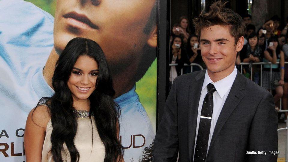 Zac Efron & Vanessa Hudgens: Fans hoffen auf Liebescomeback