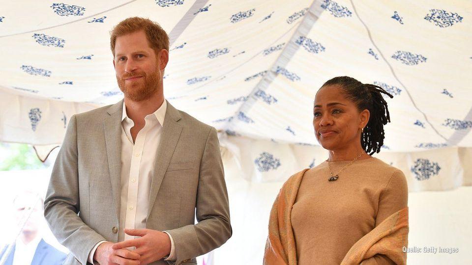 Prinz Harry: Ist Doria Ragland seine Ersatz-Mutter?