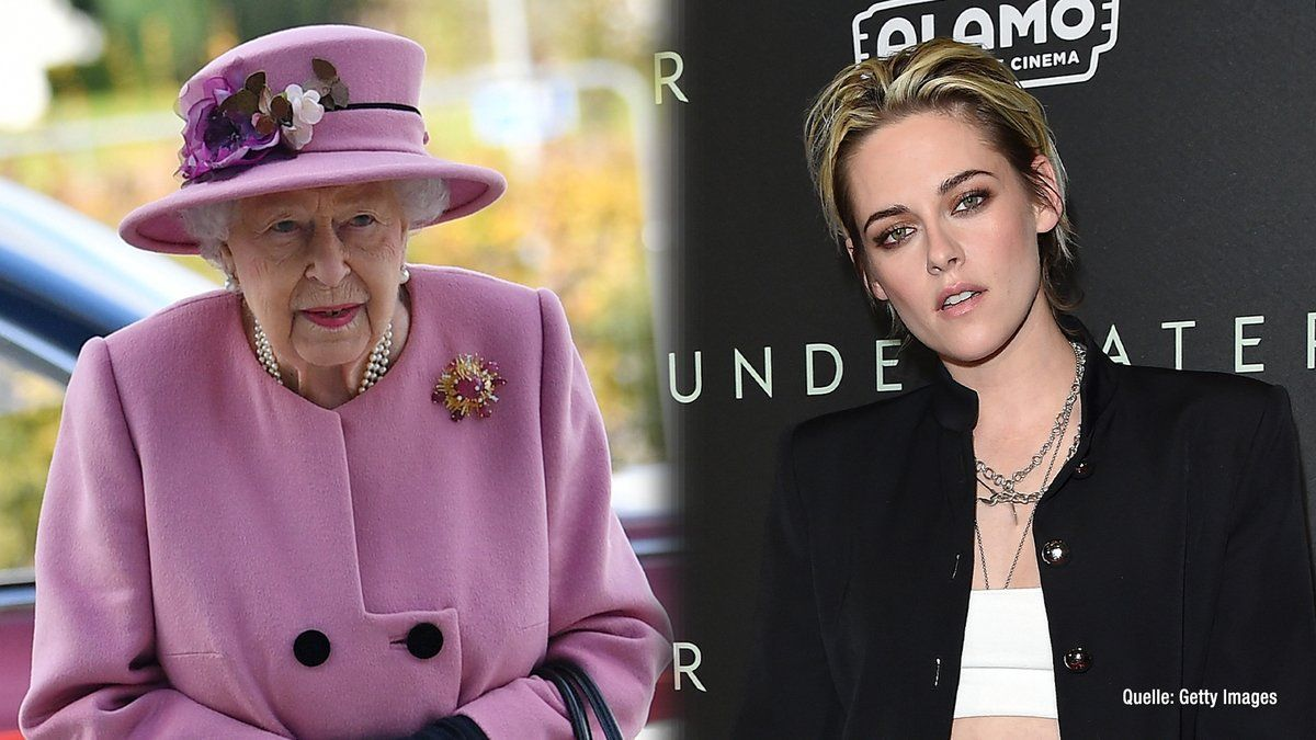 """Spencer""-Biopic mit Kristen Stewart: Queen ist ""not amused"""