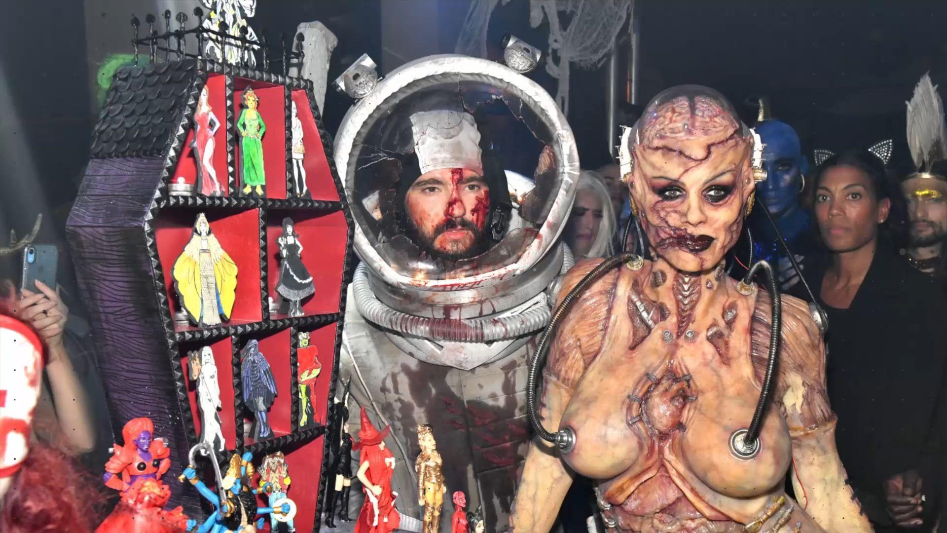 Heidi Klum Halloween 2019: Ekliger Alien, der Tom entführt hat