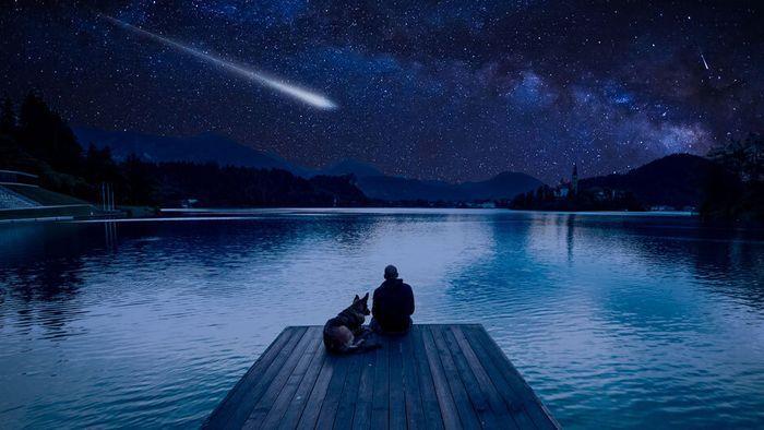 Planetenduo und Sternschnuppen-Höhepunkt im Dezember sichtbar