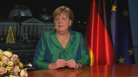 Merkel ruft in Neujahrsansprache zu Zuversicht auf