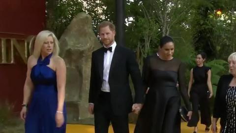 Prinz Harry wieder bei Meghan und Archie in Kanada