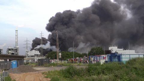 Explosion im Chempark – mindestens ein Toter, viele Verletzte