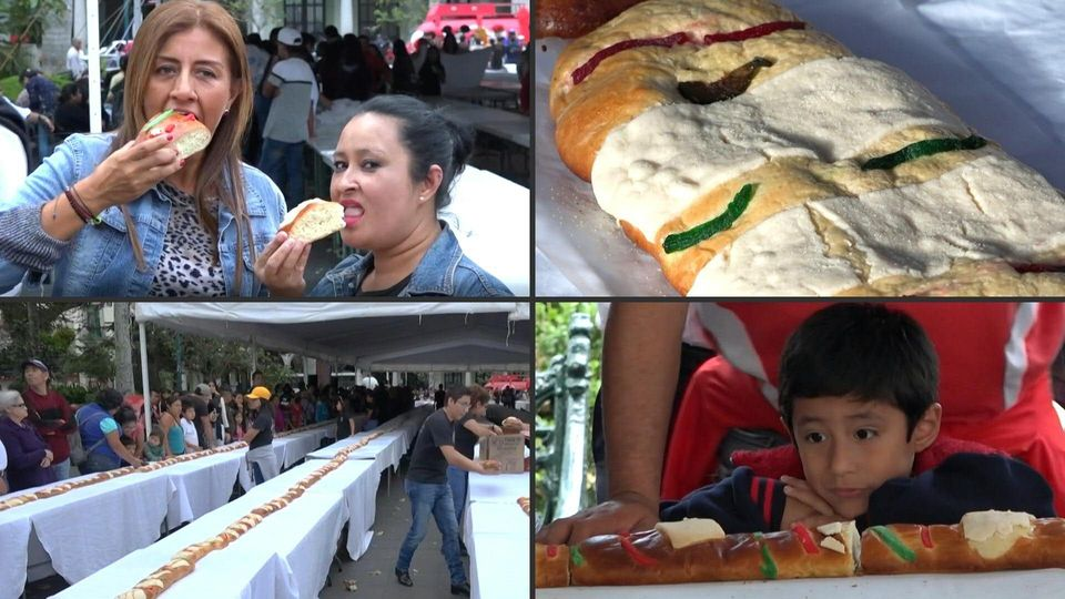 Mexikaner backen 500 Meter langen Kuchen