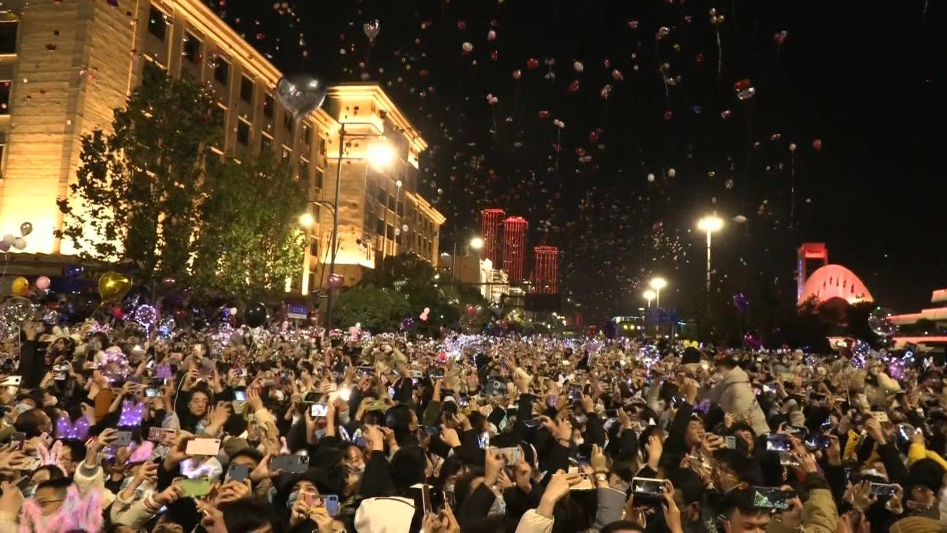 Silvester im Ursprungsort der Corona-Pandemie: Wuhan begrüßt 2021