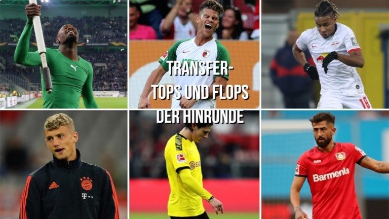 Hinrunden-Bilanz: Die Tops und Flops der Bundesliga-Transfers