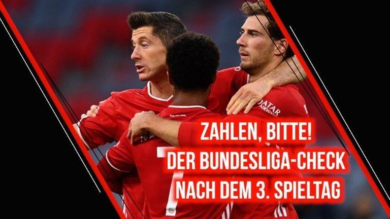 Zahlen, bitte! Der Bundesliga-Check nach dem 3. Spieltag