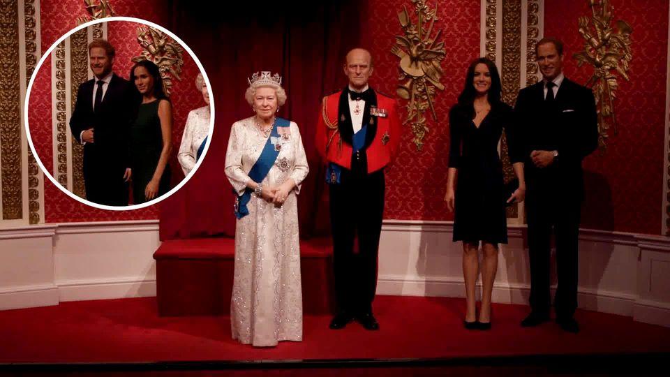 Madame Tussauds: Meghan und Harry aus Wachsfiguren-Museum entfernt