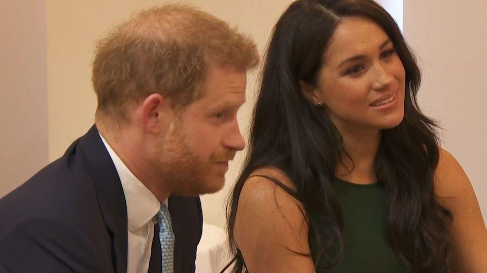 Segen der Queen: Harry und Meghan dürfen Neustart wagen