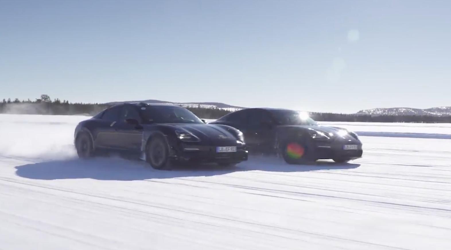 Endspurt bei der Erprobung des neuen Porsche Taycan