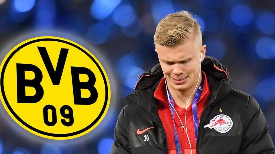 Transfermarkt: Erin Haaland mit BVB-Ausstiegsklausel