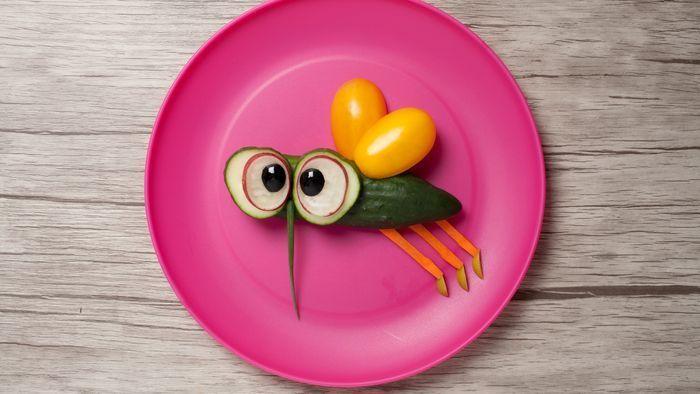 Pasta-Monster und Gemüse-Mücke: Ihre Kinder werden die Gerichte lieben