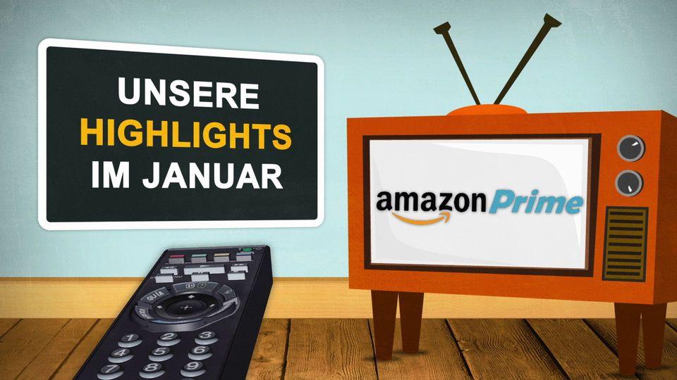 Diese Amazon Prime Video Highlights erwarten dich im Januar