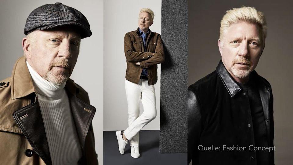 Boris Becker versucht sich in Mode und präsentiert eigene Kollektion