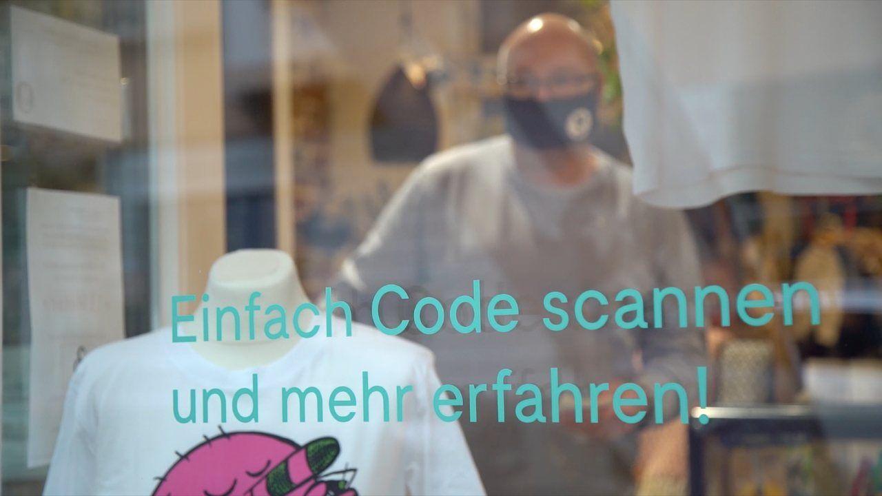 Corona-Hilfe 4.0 – modernes Schaufensterbummeln rettet Dortmunder Künstler vor der Pleite
