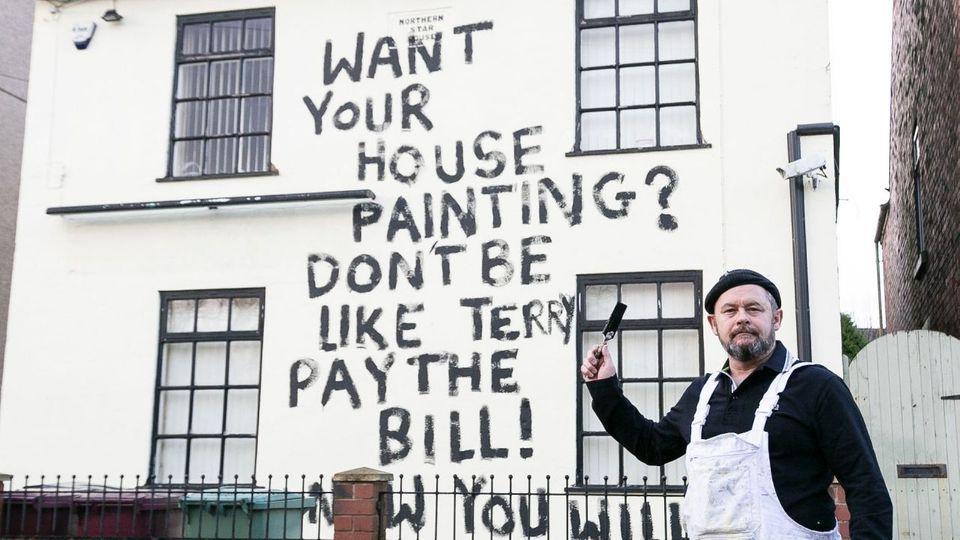 Rechnung nicht bezahlt: Maler rächt sich auf seine Weise