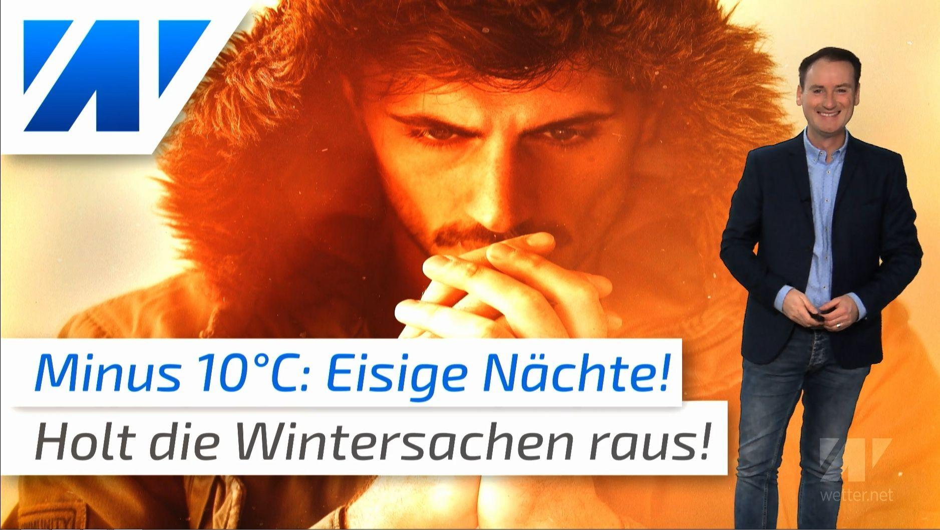 Temperatursturz! Minus 10 Grad: 35 Grad kälter als vergangene Woche!