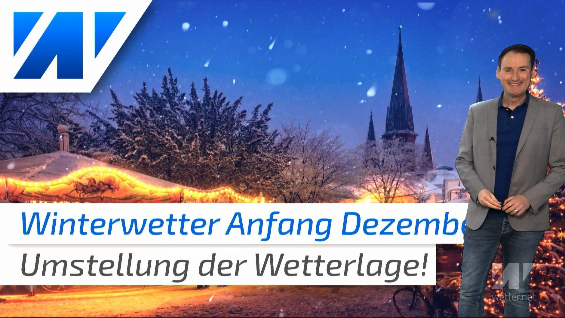 Winterwetter ab Dezember? Die Großwetterlage stellt sich um!