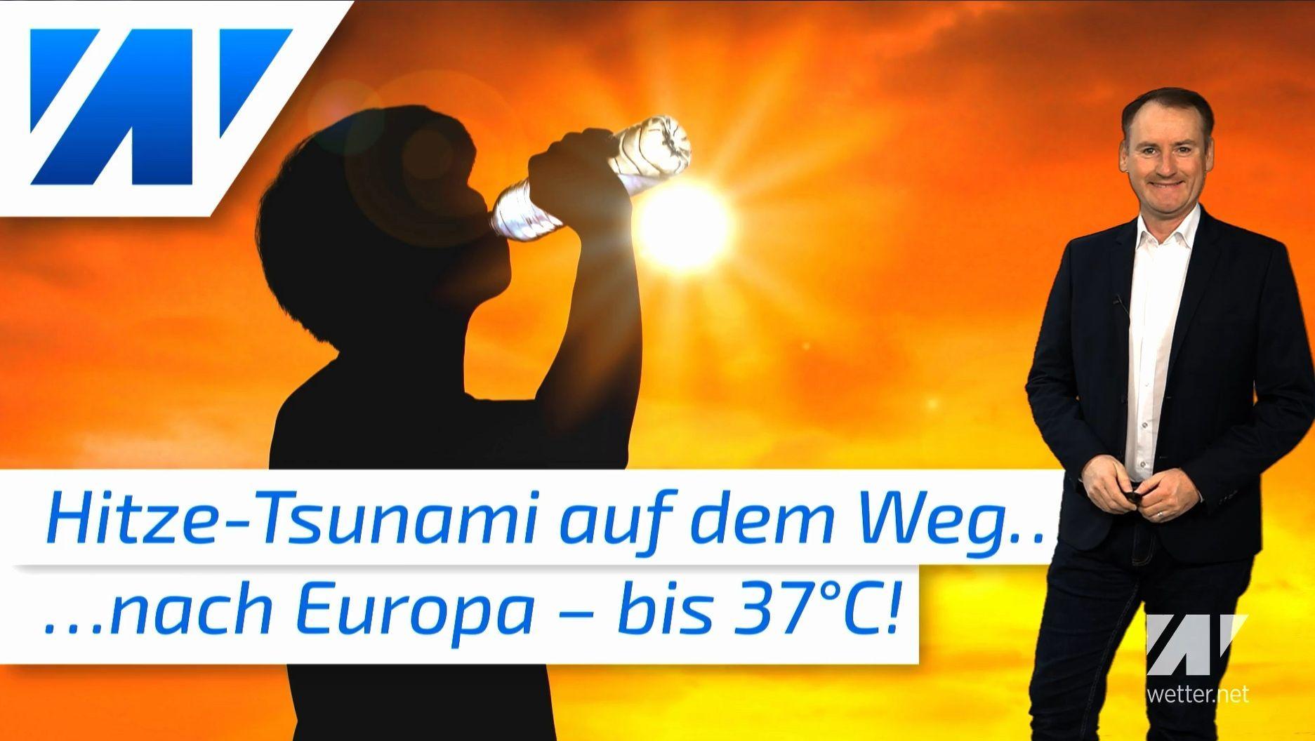 Hitze-Tsunami rauscht auf Deutschland zu: Eine längere Hitzewelle kommt!