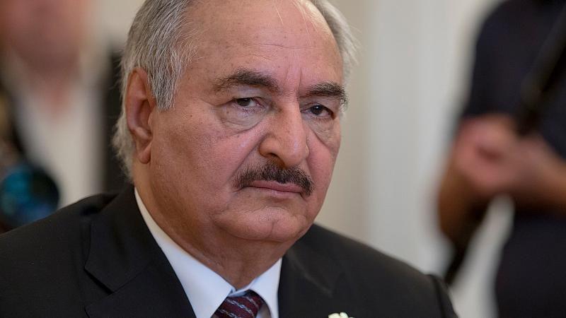 Libyen-Konflikt: General Chalifa Haftar akzeptiert Waffenruhe
