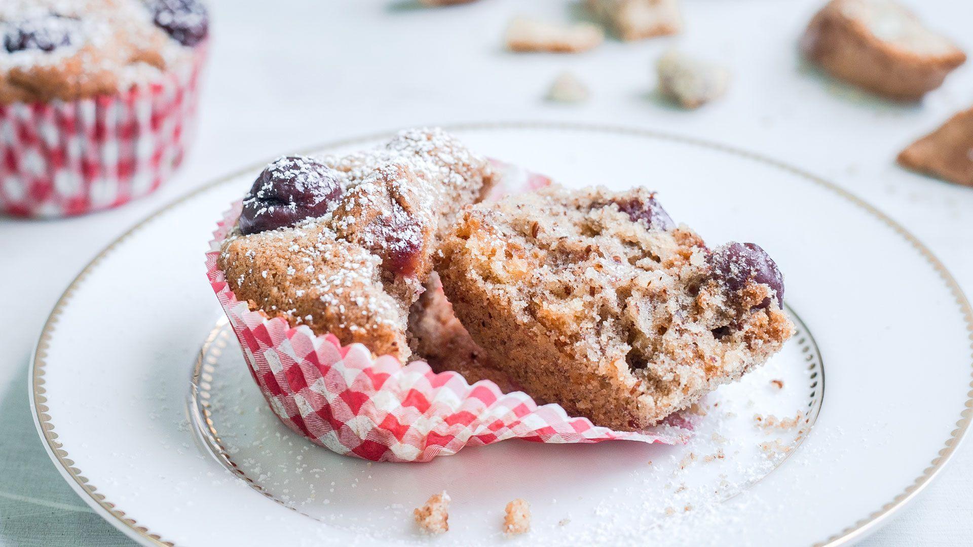 Cantuccini-Kirsch-Muffins