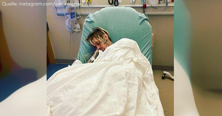 Aaron Carter im Krankenhaus: Er wiegt nur noch 52 Kilo