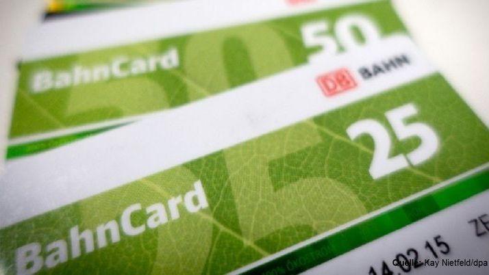Mehrwertsteuer-Senkung: Auch Bahncards 50 und 25 werden günstiger