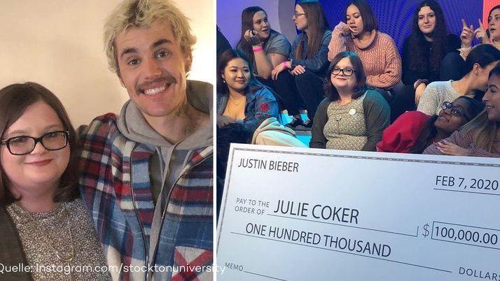 Mega-Überraschung: Darum schenkt Justin Bieber einem Fan 100000 Dollar