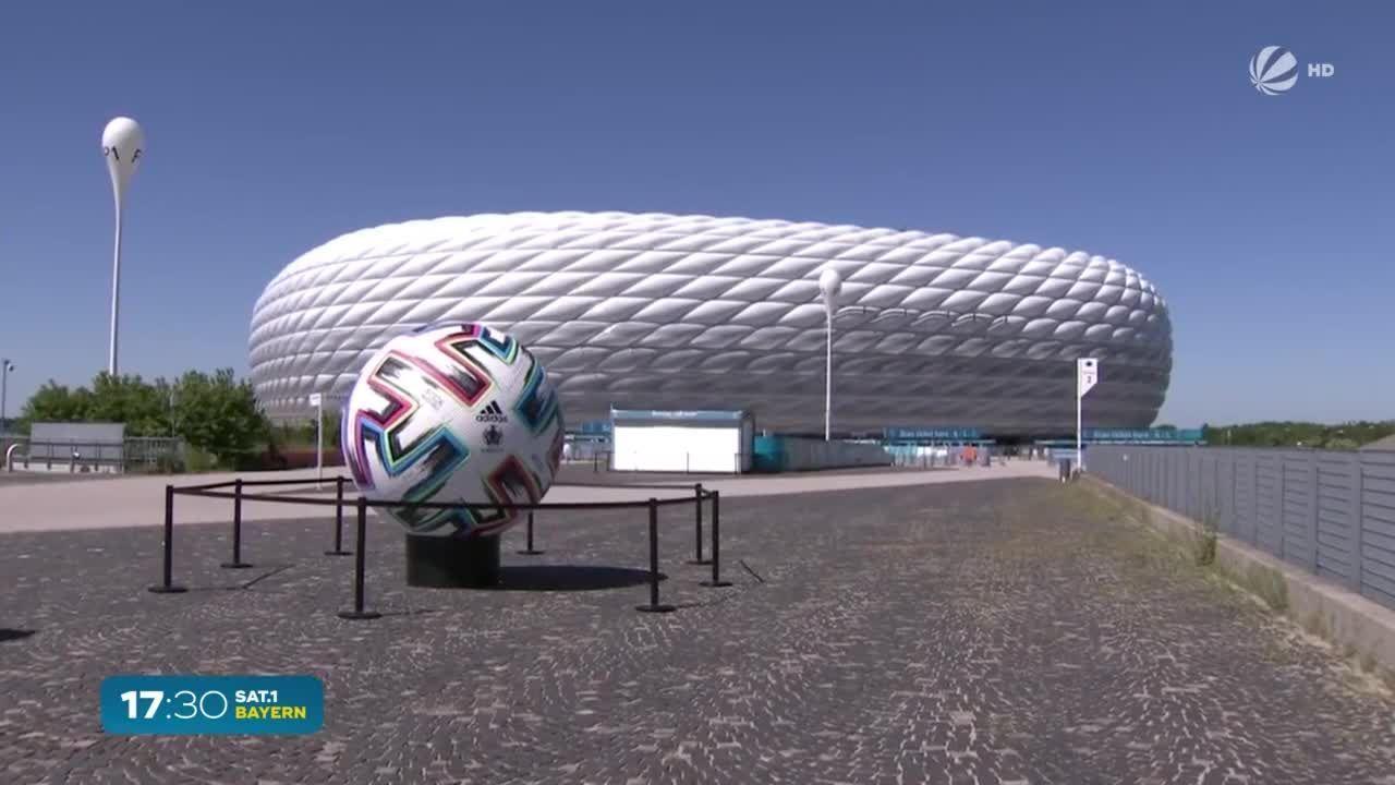 Auftaktspiel in Allianz-Arena: EM-Fieber in München steigt