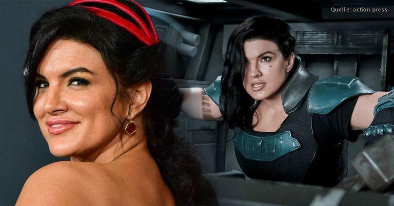 """""""Abscheulich und inakzeptabel"""": Disney feuert """"Mandalorian""""-Star Gina Carano"""