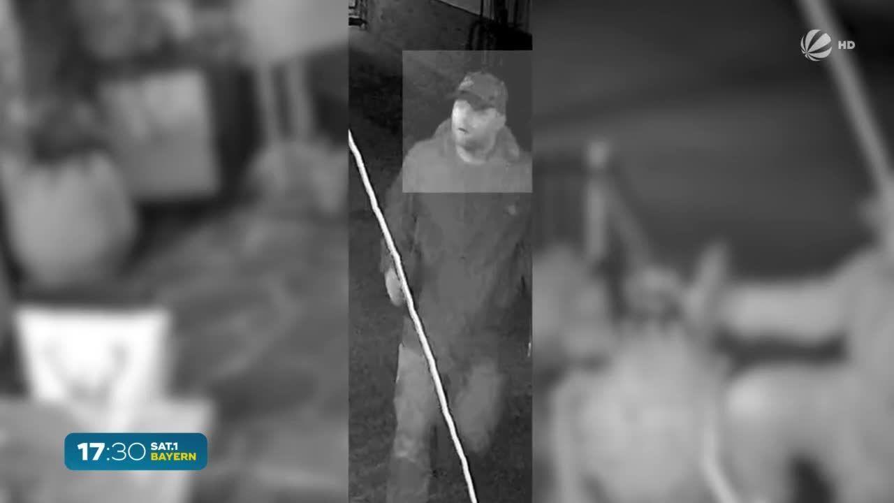 Polizei-Suche in Siegsdorf: Unbekannter setzt Terrasse in Brand
